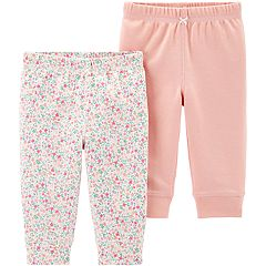 01cac699ba Baby Girl Carter's 2-pack Cotton Pants