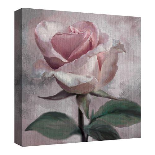 Fine Art Canvas Rose Glow I by Studio Arts Wall Art