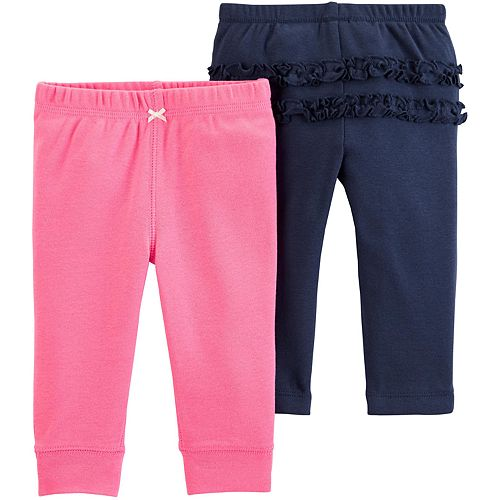 Baby Girl Carter's 2-pack Cotton Pants