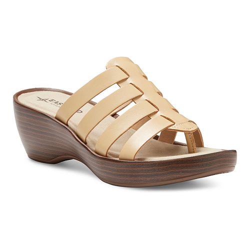 Eastland Topaz Women's Thong Wedge Sandals
