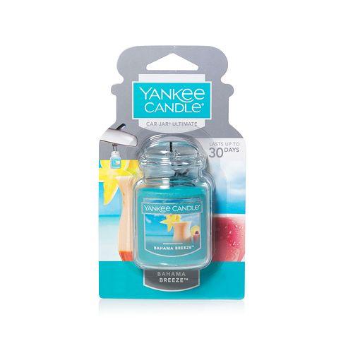 Yankee Candle Ultimate Car Jar Bahama Breeze Air Freshener