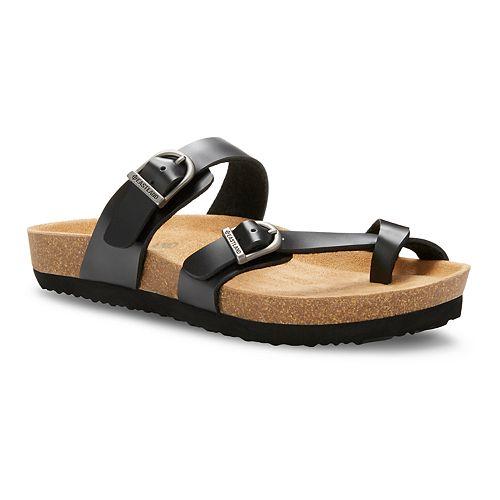 Eastland Tiogo Women's Toe Ring Slide Sandals