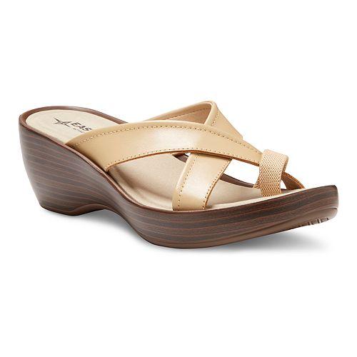 Eastland Willow Women's Slide Wedge Sandals