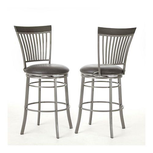 Phenomenal Steve Silver Co Milo Swivel Bar Chair Ibusinesslaw Wood Chair Design Ideas Ibusinesslaworg