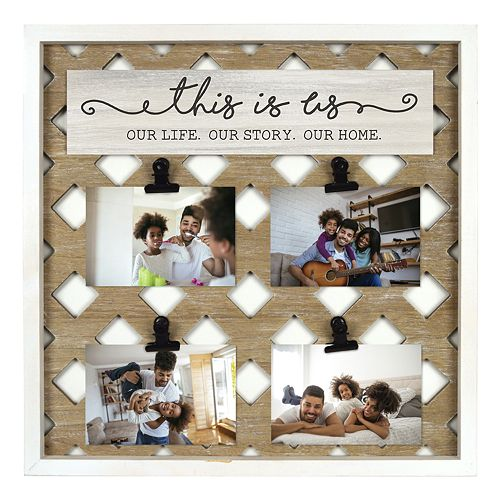 New View Gifts This Is Us 4 Opening Lattice Collage