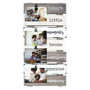 New View Gifts Today's Little Moments 4 Opening Plank Collage