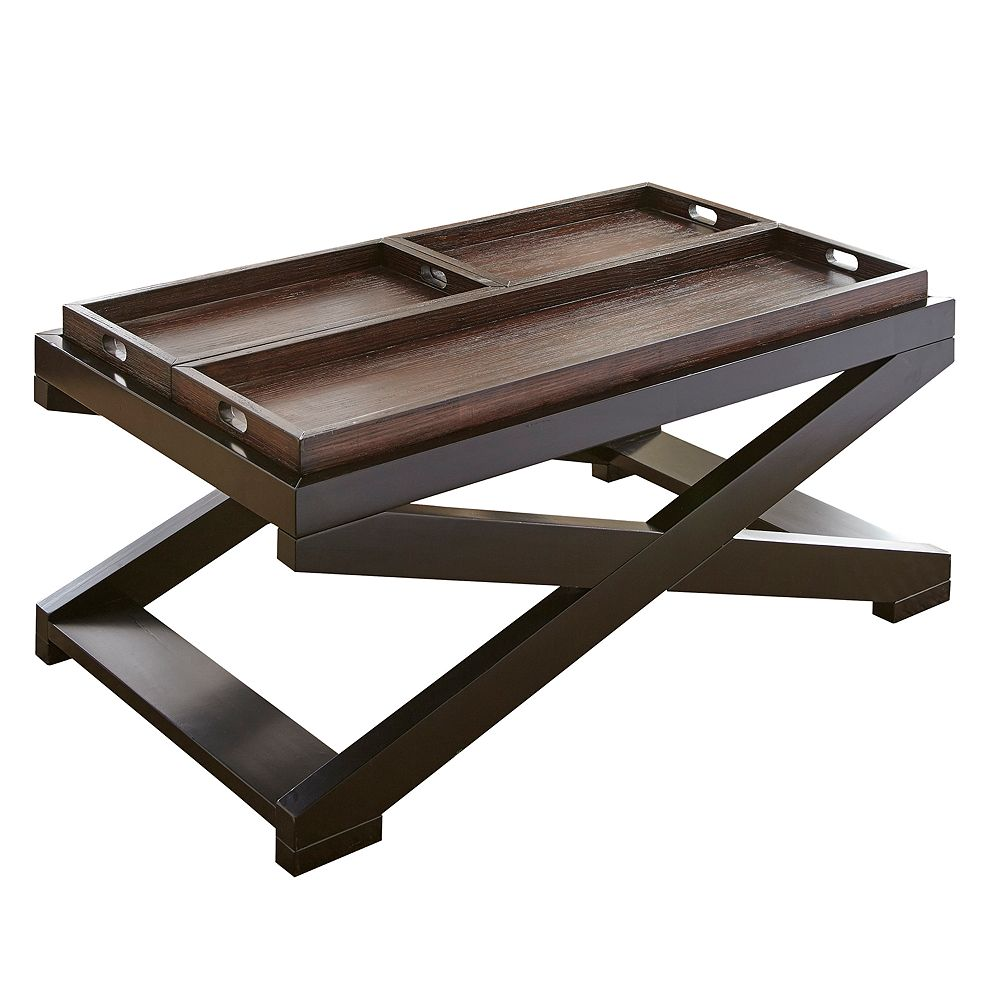 Steve Silver Co. Alanis Coffee Table with Trays