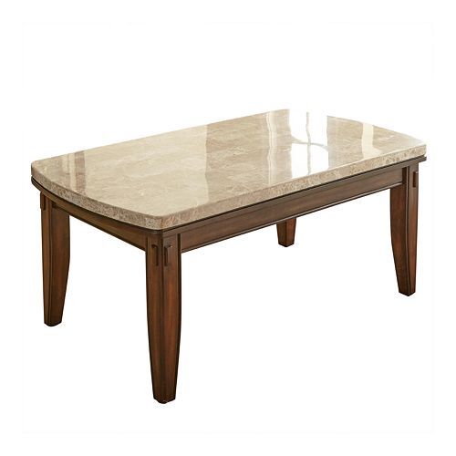 Steve Silver Co. Eileen Marble Top Cocktail Table
