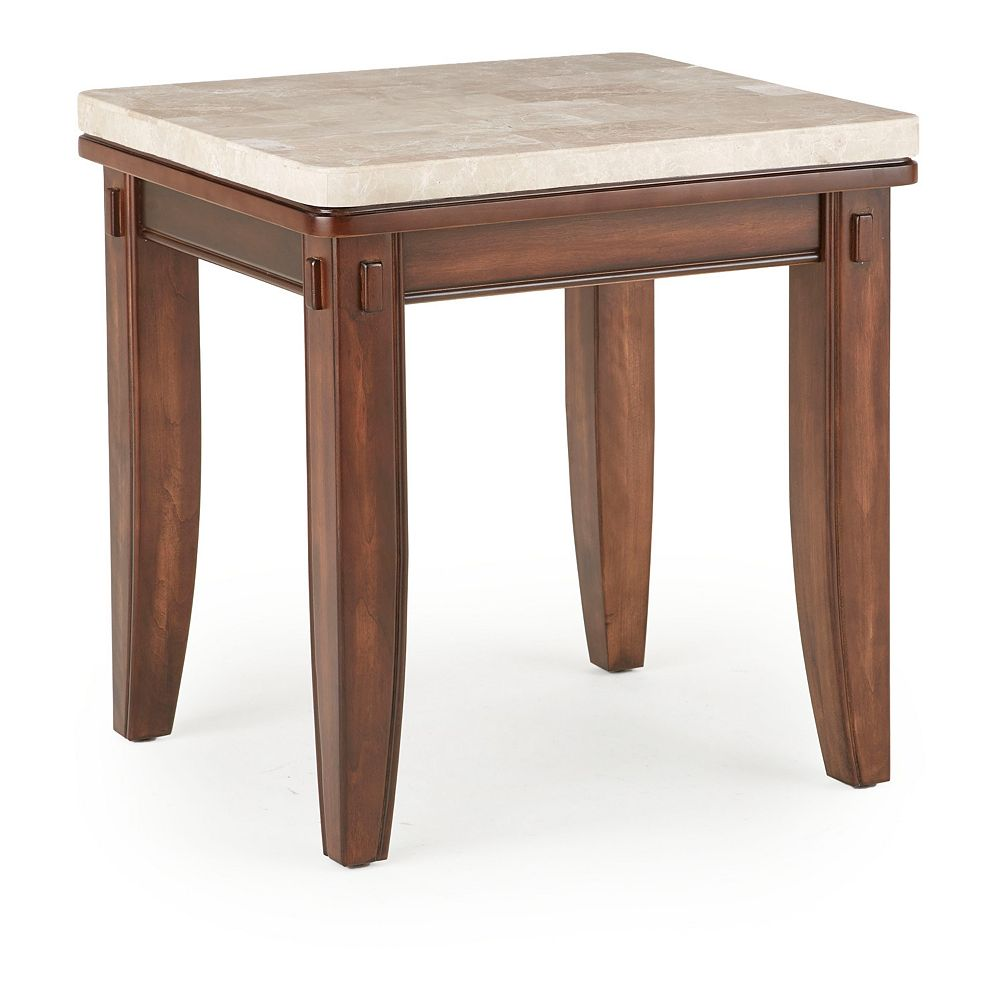 Steve Silver Co. Eileen Marble Top End Table