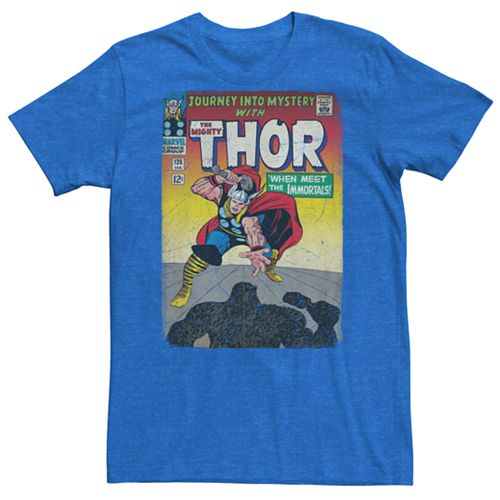 Men's Marvel Retro Thor Comic Book Graphic Tee