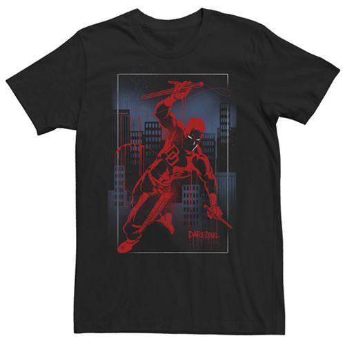 Men's Marvel Knights Present Daredevil Graphic Tee