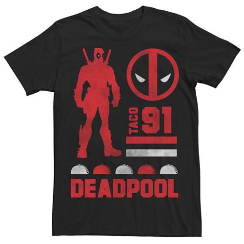 Men's Marvel Deadpool Taco Graphic Tee