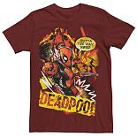 Men's Marvel Deadpool Scribbles Graphic Tee