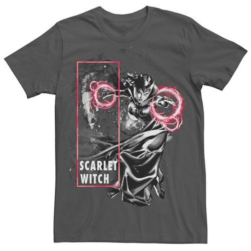 Men's Marvel Scarlet Witch Blast Graphic Tee