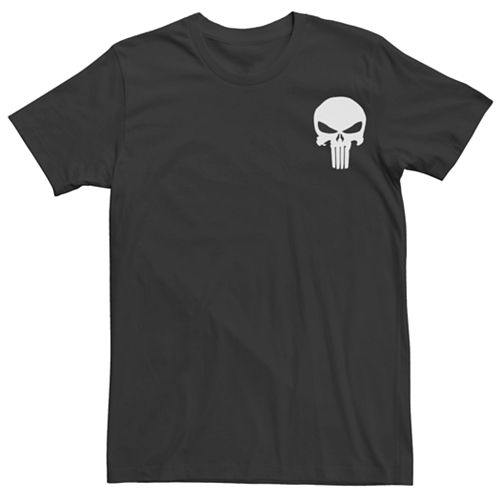 Men's Marvel Punisher Untouched Graphic Tee