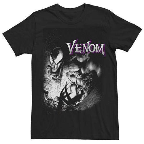 Men's Marvel Venom Angry Graphic Tee