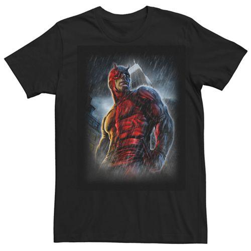Men's Marvel Knights Present Daredevil Redemption Graphic Tee