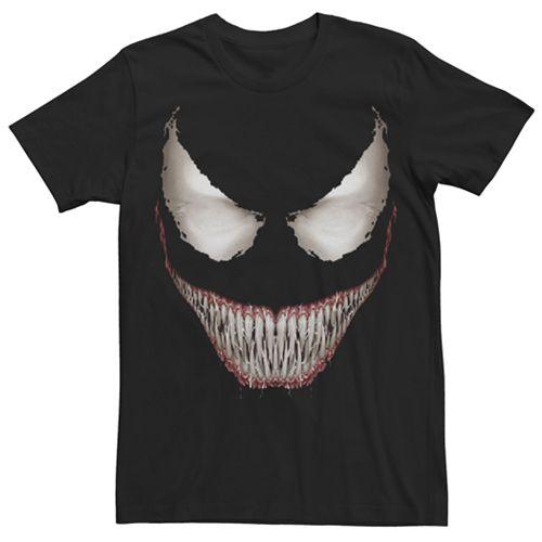 Men's Marvel Venom Face Graphic Tee