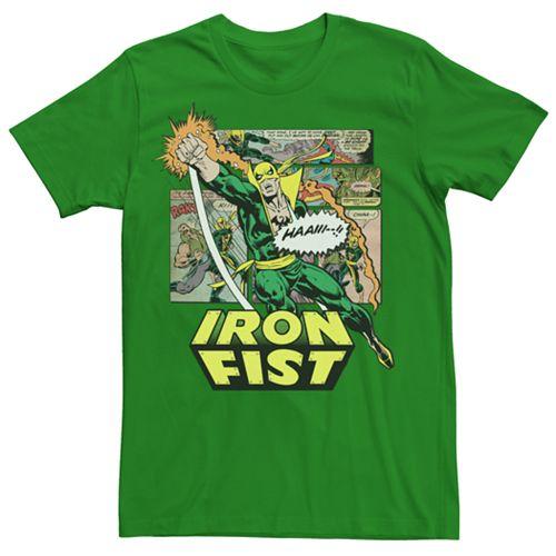 Men's Marvel Iron Fist Logo Graphic Tee