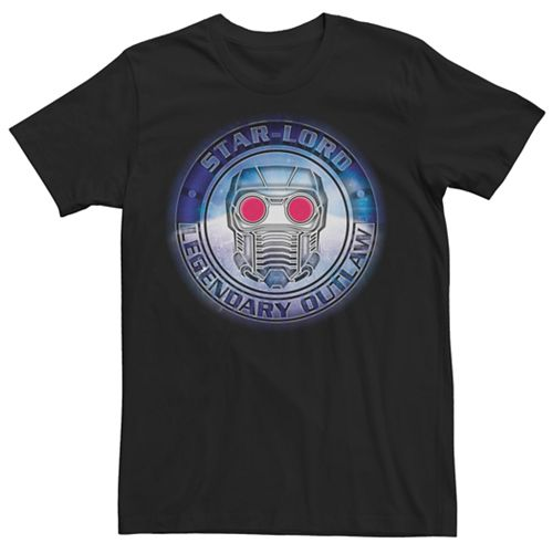 Men's Marvel Guardians of the Galaxy Star Lord Graphic Tee