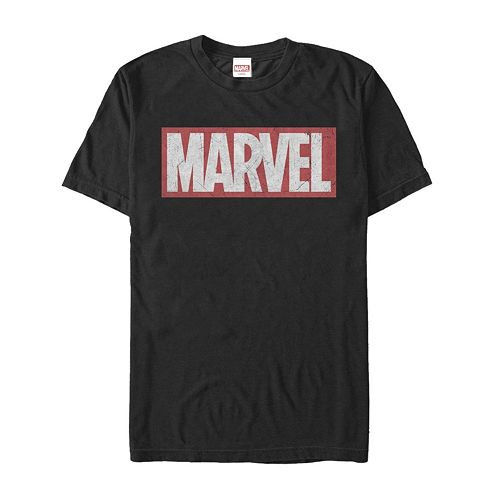 Men's Marvel Brick Logo Graphic Tee