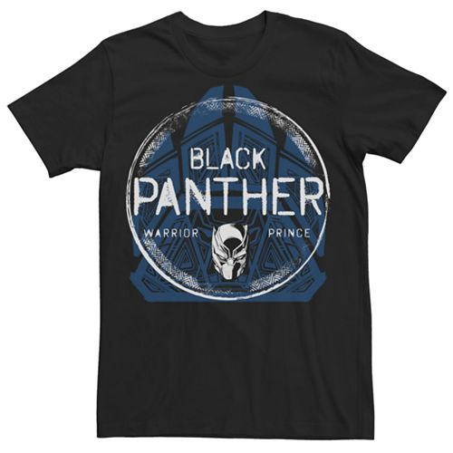 Men's Avengers Black Panther Patch Graphic Tee