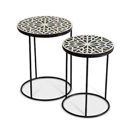 Steve Silver Amisha Round Nesting Tables