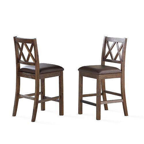 Steve Silver Co. Lori Counter Chair Set