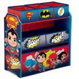 Delta Children DC Super Friends Multi-Bin Toy Organizer
