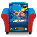 Delta Children DC Comics Super Friends Kids Upholstered Chair