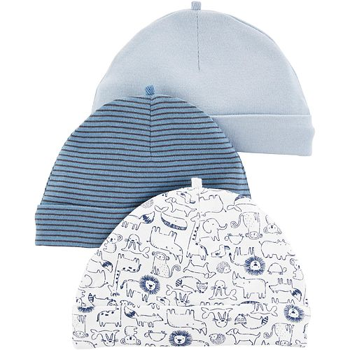 Baby Boy Carter's 3 Pack Knit Hats