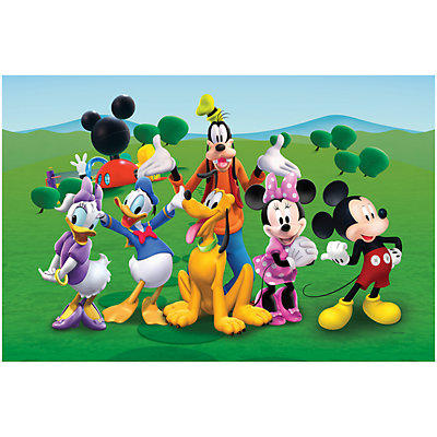 TCG Toys Mickey Mouse Clubhouse Memory Foam 2 Sided Jumbo Gelli Mat Play Mat