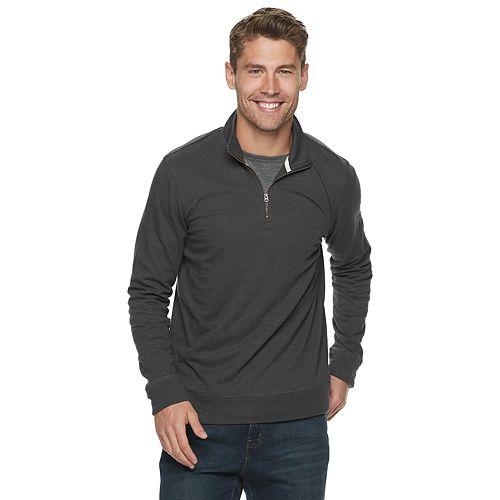 Men's SONOMA Goods for Life™ Lightweight Quarter-Zip Pull-Over