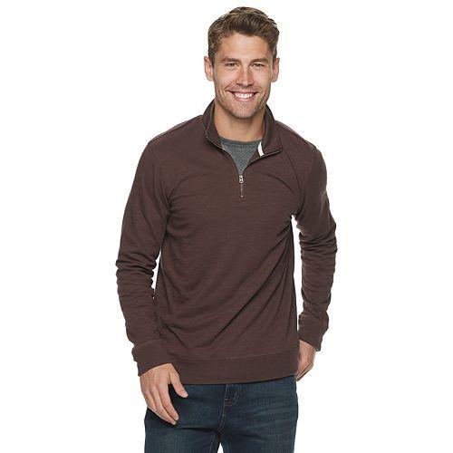 Men's SONOMA Goods for Life® Lightweight Quarter-Zip Pull-Over
