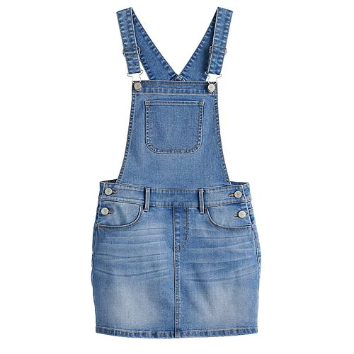 Girls 7-16 SO® Jean Skirtalls