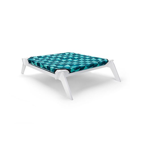 Primetime Petz Pet Lounge - Designer Pet Lounge with Reversible Fabric Hammock