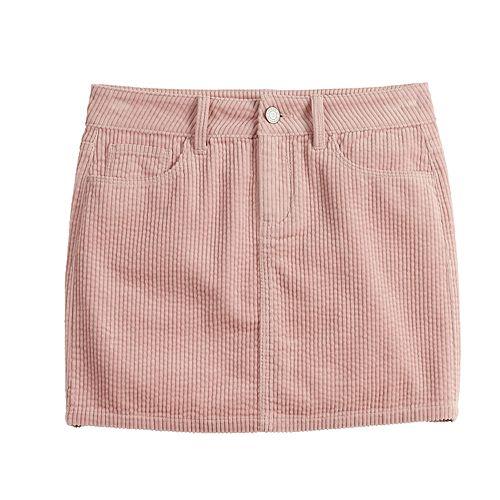 Girls 7-16 SO® Corduroy Skirt
