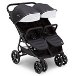 Delta Children J is for Jeep Brand Destination Ultralight Double Stroller