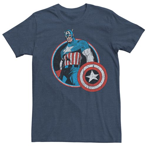 Men's Captain America Retro Tee