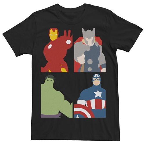 Men's Avengers Block Party Tee