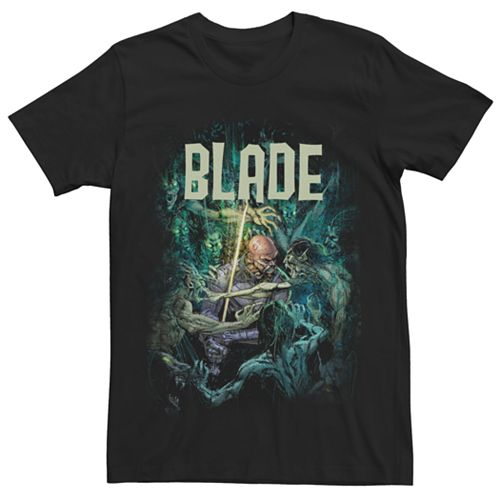 Men's Marvel Universe Blade VS Undead Tee