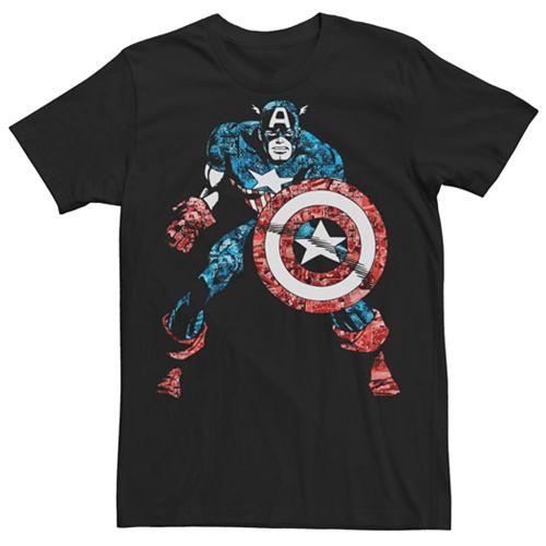 Men's Captain America Vintage Tee
