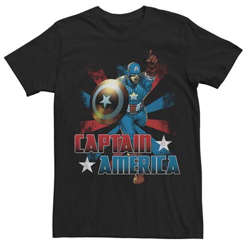 Captain America Running Tee