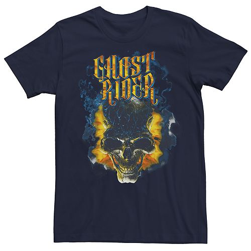 Men's Marvel Universe Ghost Rider Writing Tee