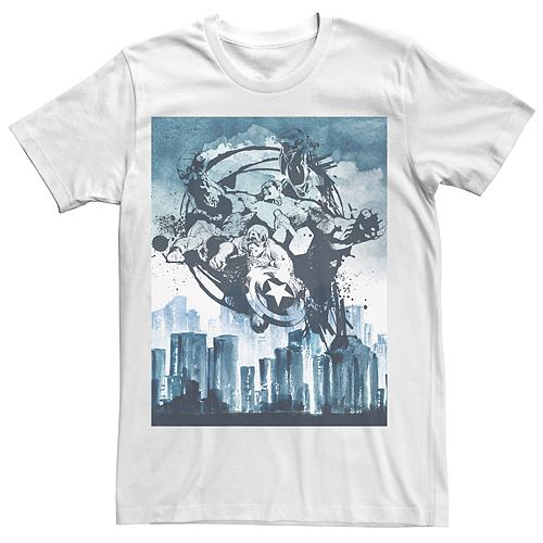 Men's Avengers City Avenged Tee