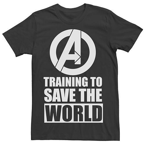 Men's Avengers Marvel Logo Training Tee