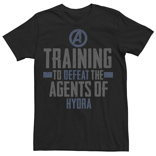 Men's Avengers Marvel Defeat Hydra Tee