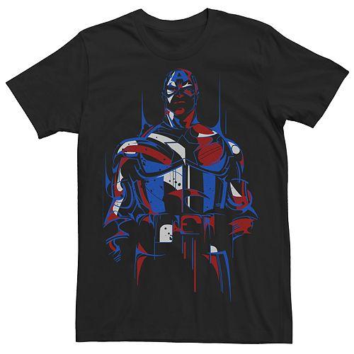 Men's Marvel Comics Universe Captain America Redemption Tee