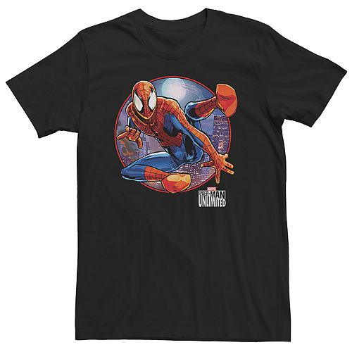 Men's Marvel Games Spider-Man MoonLight Tee