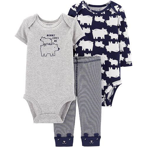 Baby Boy Carter's 3 Piece Polar Bear Bodysuits & Pants Set